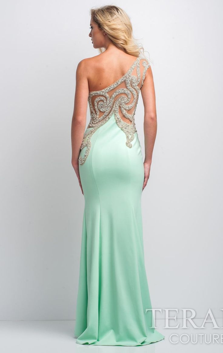 Terani 151P0064 by Terani Couture Prom - Back detail