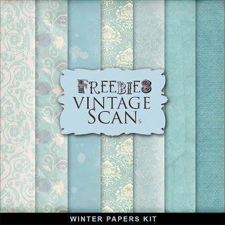 Freebies Winter Paper Kit