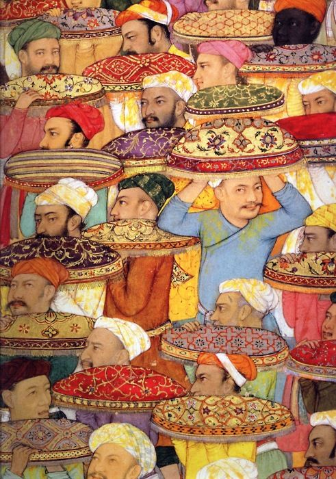 sombhatt: Illustration from: King of the World The Padshahnama - An Imperial Mughal Manuscript from the Royal Library, Windsor Castle