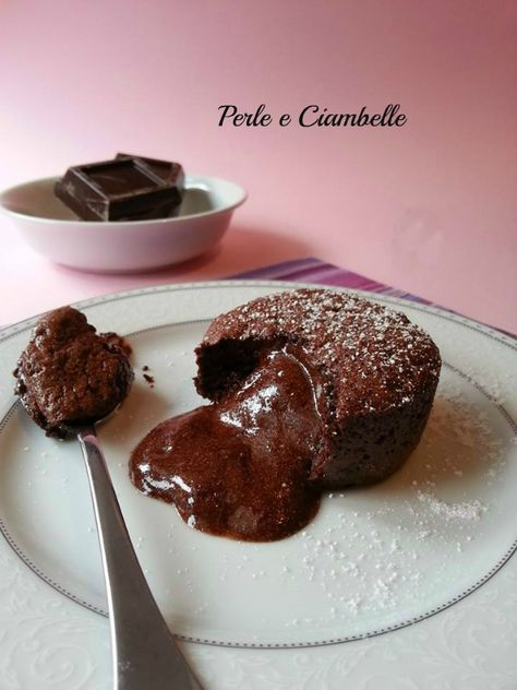 Il tortino fondente dal cuore cremoso....decisamente irresistibile!
