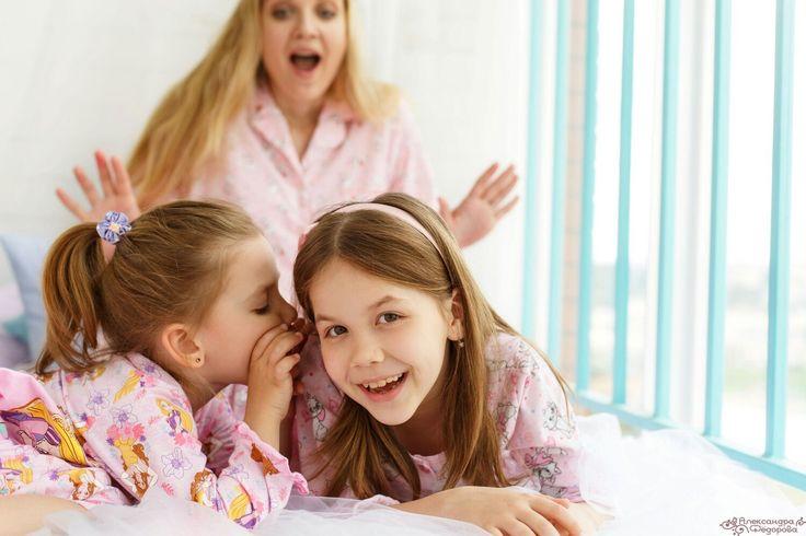 фотограф Александра Муза  пижамная вечеринка,детская фотосессия,семейная фотосессия,идеи для фотосессий