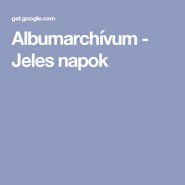 Albumarchívum - Jeles napok