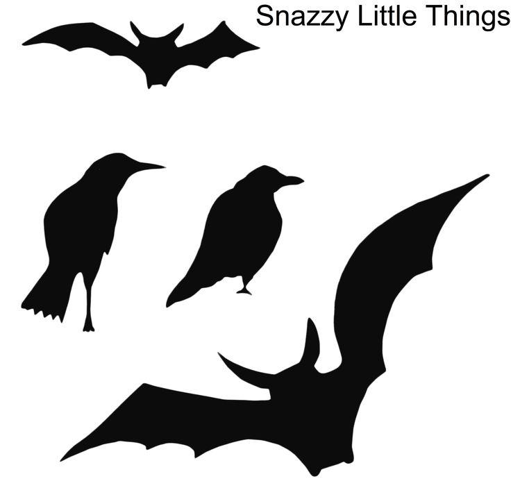 Bats and Birds :: Halloween