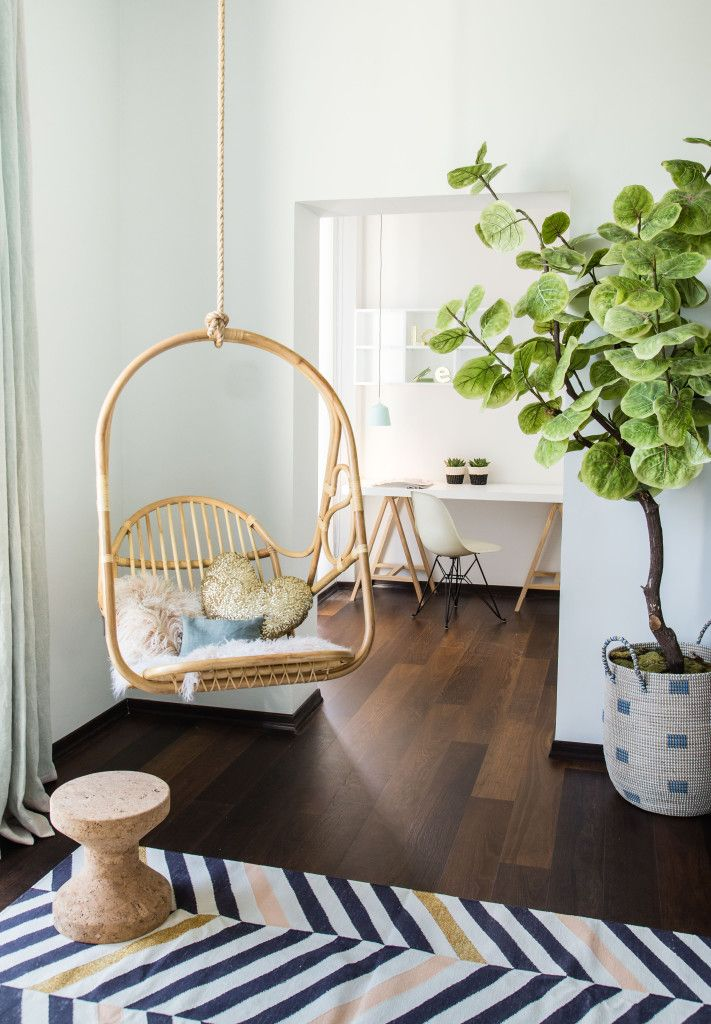 STYLING PROJECT: TEENSROOM DREAMY DIP DYE | Live Loud Girl | Byron bay hanging chair