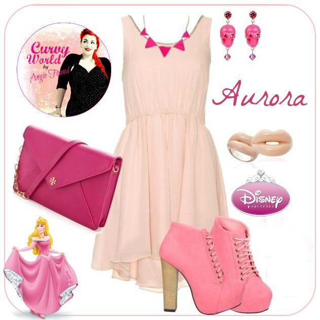 Curvy World: Disney Princess Outfits (dress meeds to be longer though)