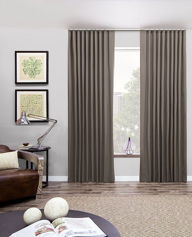 Ripple Fold Drapery & Curtains | Modern Drapes | The Shade Store