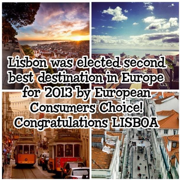 Parabéns Lisboa! Congratulations Lisboa