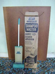 Bissell Shampoo Master From 1950 1960. See Our Modern Carpet Cleaners: Http: