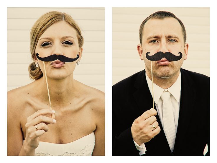 Mustaches Wedding.  © Marta Mandryto