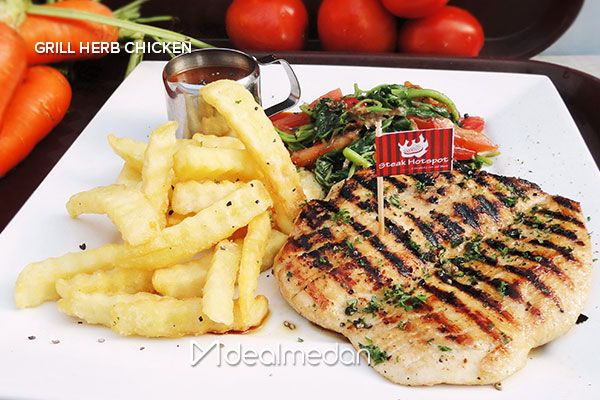 Sensational Packages Of Chicken Steak + Drink + Voucher Sirloin Steak From Steak Hotspot