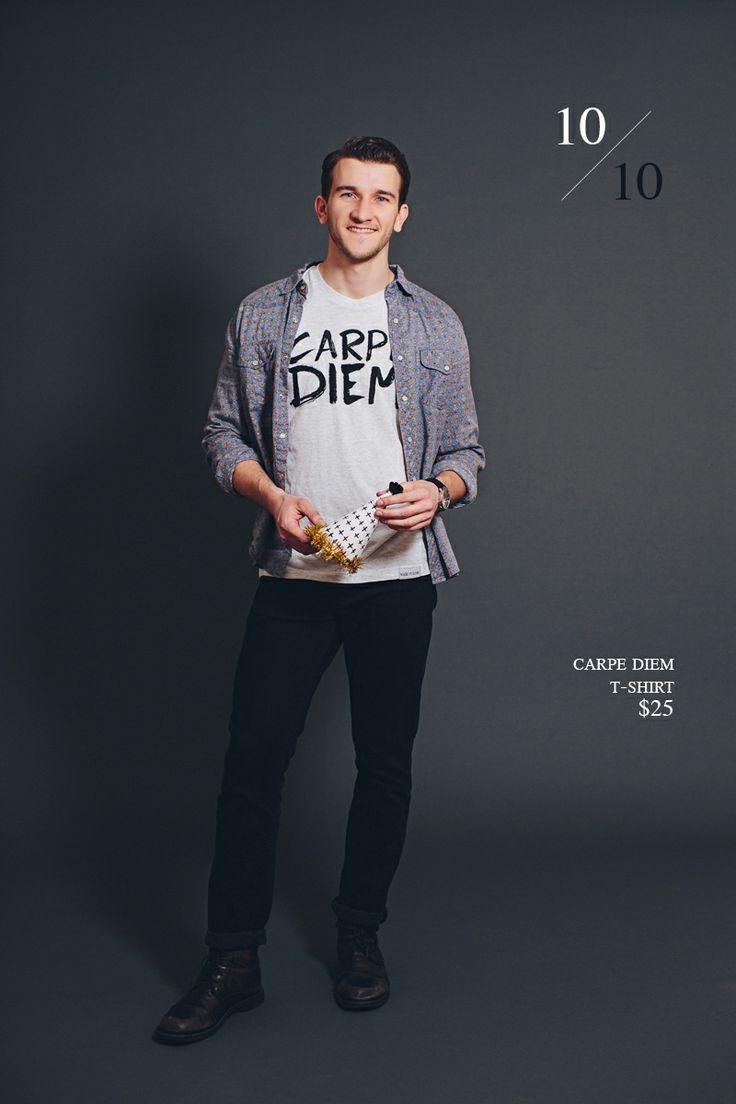 Carpe Diem T-Shirt designed by Jeff Frandsen | walk in love.