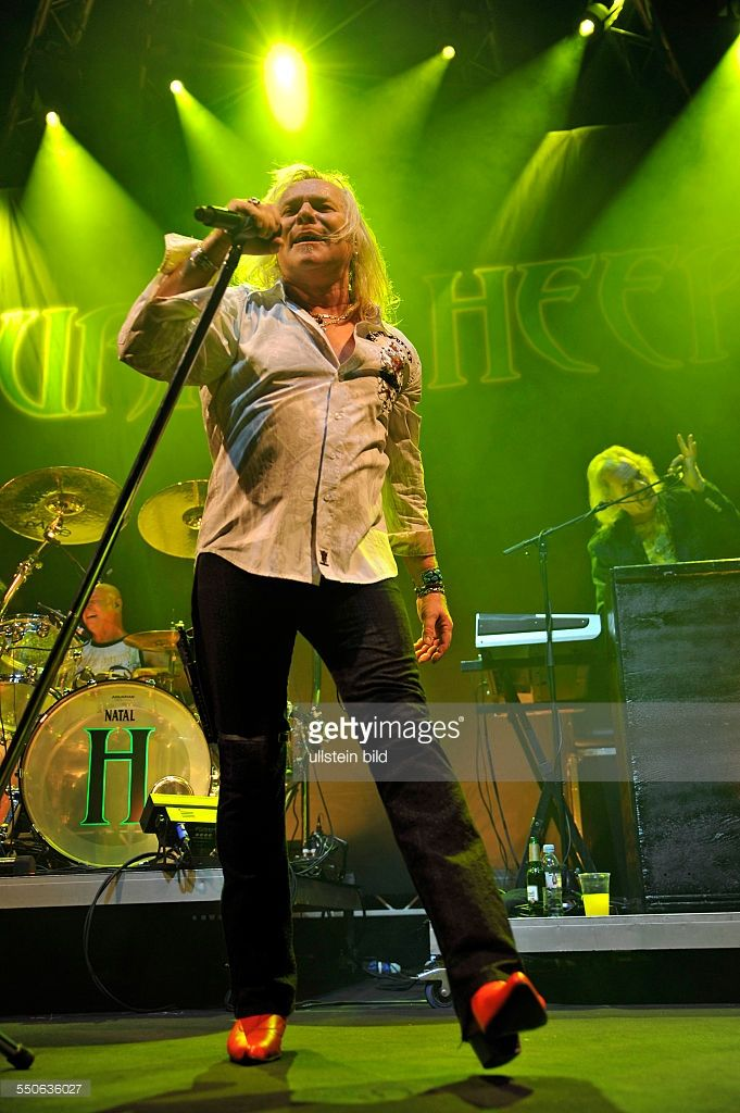 <a gi-track='captionPersonalityLinkClicked' href=/galleries/search?phrase=Uriah+Heep&family=editorial&specificpeople=256296 ng-click='$event.stopPropagation()'>Uriah Heep</a> - die britische Hardrock-Band mit Sänger Bernie Shaw bei einem Konzert in Hamburg, o2 World Arena