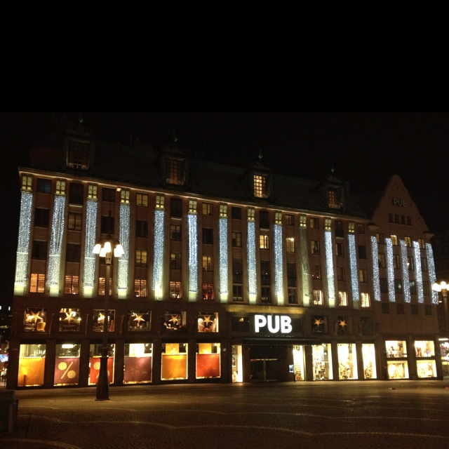 PUB is one of the major department stores in Stockholm, Sweden. PUB is the short form of the store that Paul U Bergström founded in 1882.