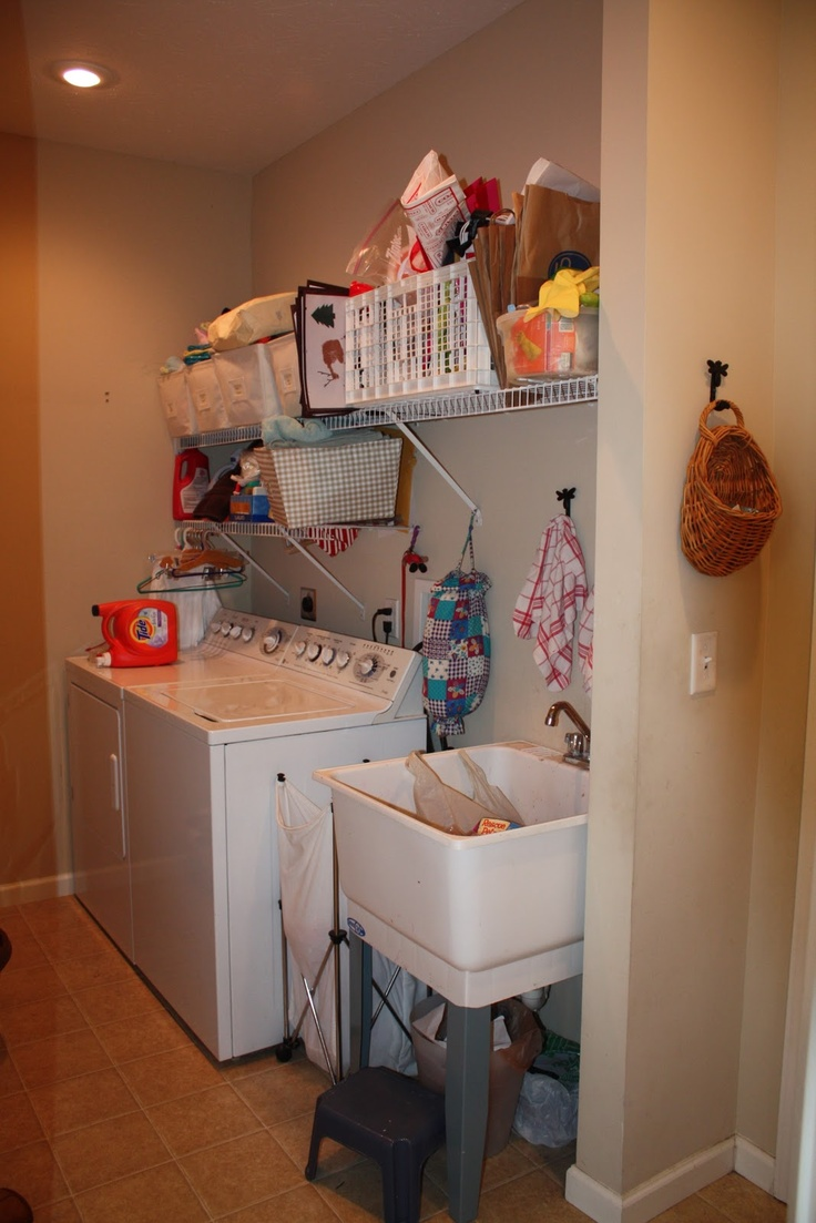 Simple Laundry Room Makeovers 84 Best Laundry Room Images On Pinterest Laundry Room Sink