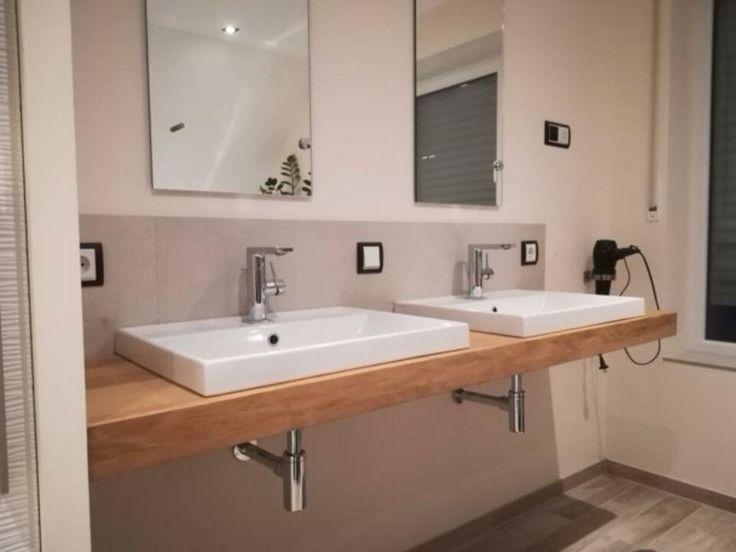 Waschtisch Platte Brett Regal Fensterbank Eiche massiv Holz Neu in Baden-Württe… – Nicole Müller