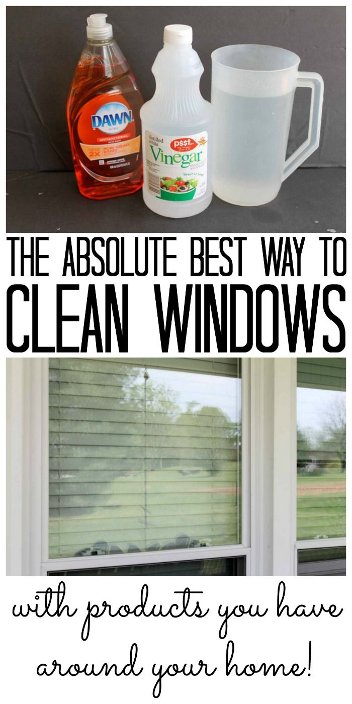 1117d80a7e48a6a50d7c99d0e070a4a6 The absolute best way to clean windows and all of the supplies are probably on h...