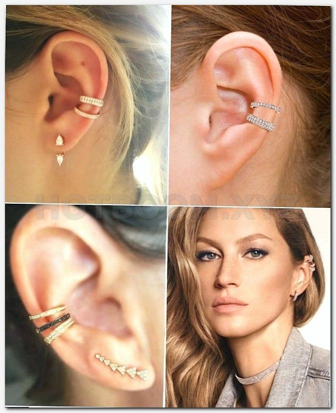 Unique Female Piercings Tipos De Piercing Industrial Piercing
