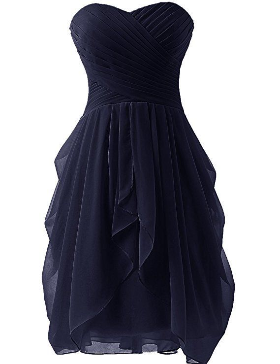 Damen Rüschen Abendkleid Partykleid Ballkleid Cocktailkleid Brautjungfer Kleider