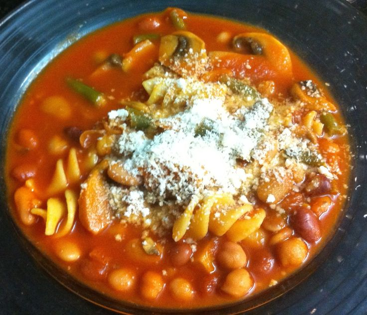 Chunky tomato soup! Check out our video below!