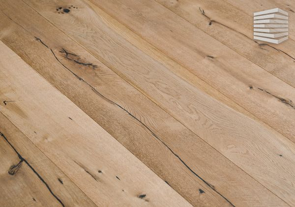 Holz Parkett Timed Amber Landhausdiele 1 Stab Eiche Rustikal