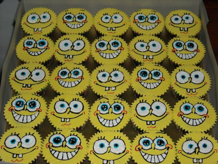 Spongebob cupcakes -very cute!