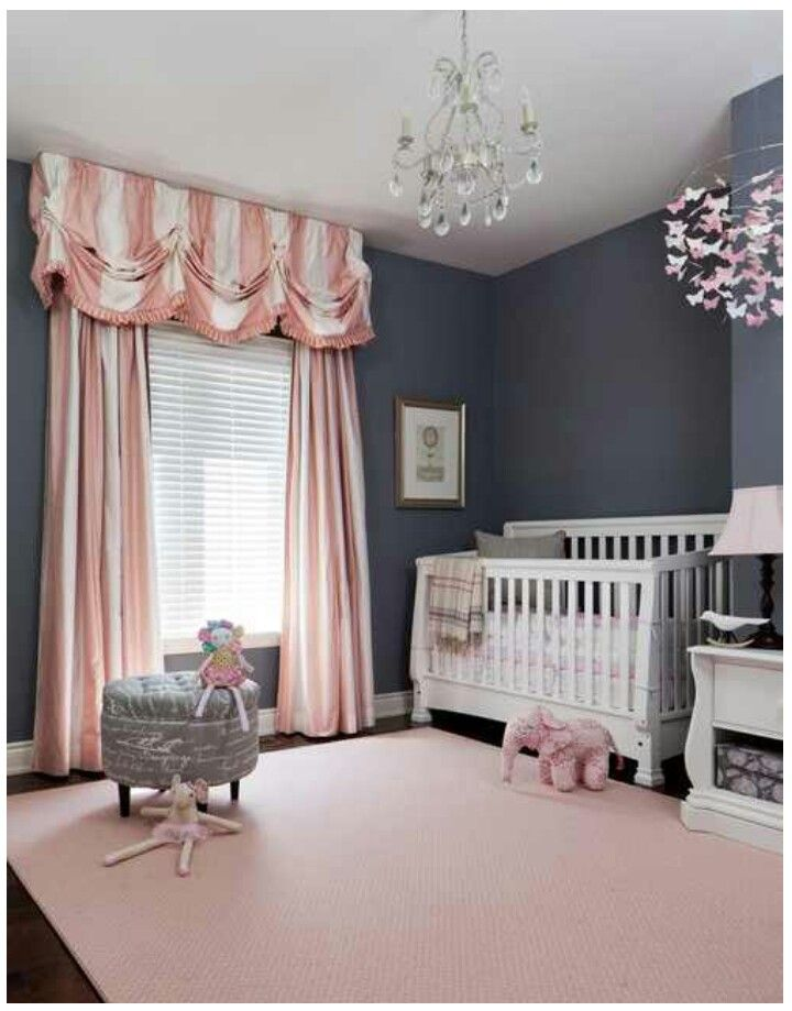 Baby Girls Room! I'm in love
