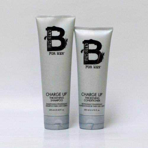 TIGI Bed Head For Men Charge up Thickening Shampoo 8.45oz / Conditioner 6.76oz by TIGI. $12.53
