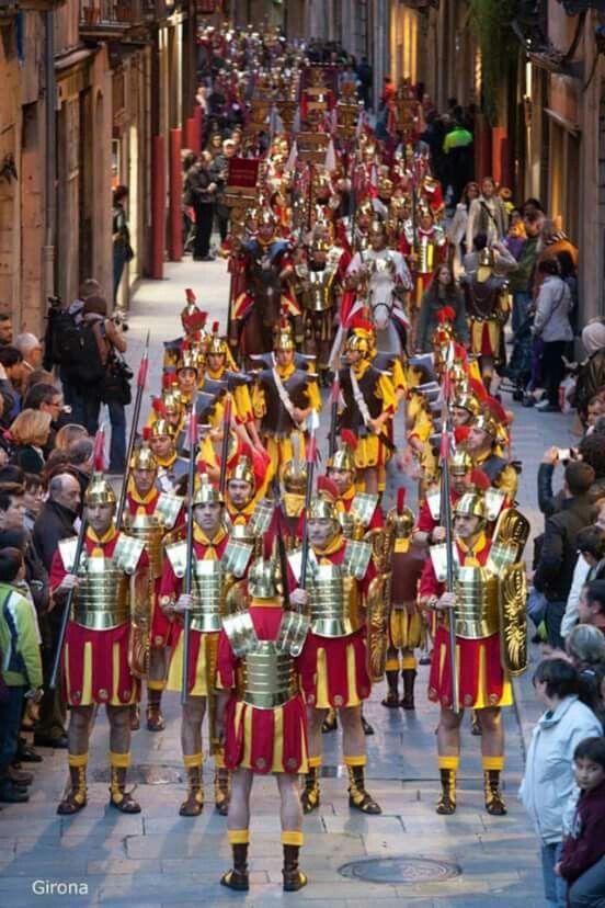 Processó dels Manaies a Girona.