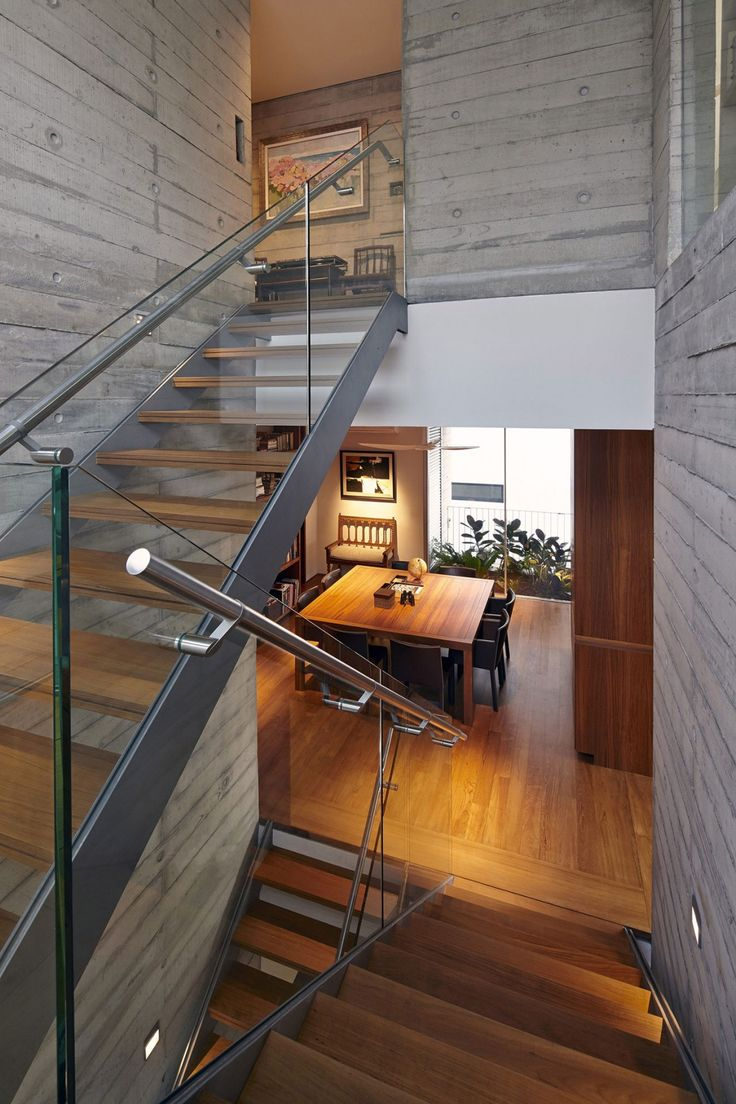 Modern Stairs // Chiltern House By WOW Architects/Warner Wong Design