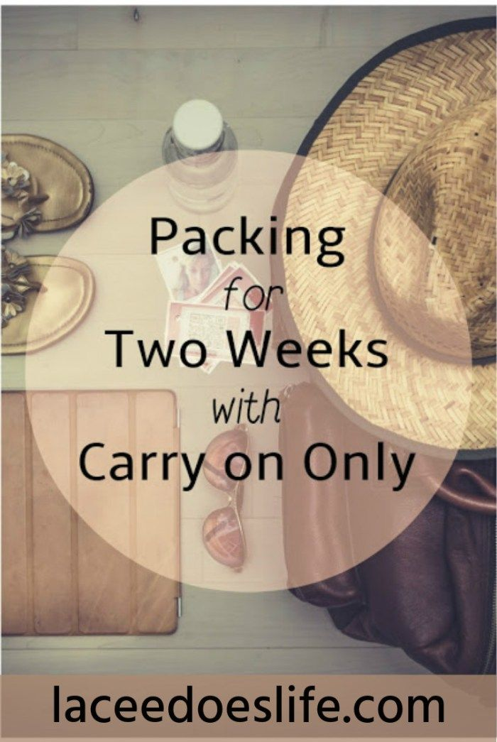 How To Travel Carry On Only | 2 Weeks | Layering Technique | Luggage