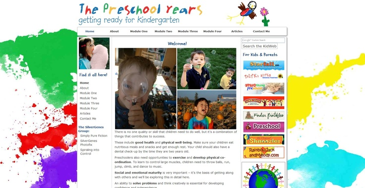 The Preschool Years is all about helping your child develop skills needed for success in kindergarten and beyond. Explore 4 modules on everything from learning styles to socializing.