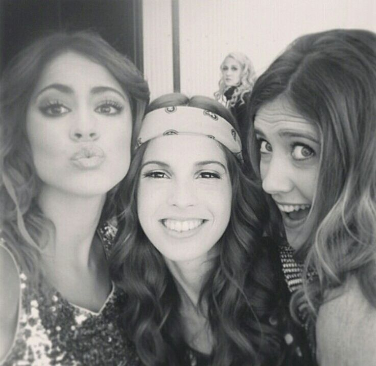Martina Stoessel,Cande Molfese and Clara Alonso❤squad