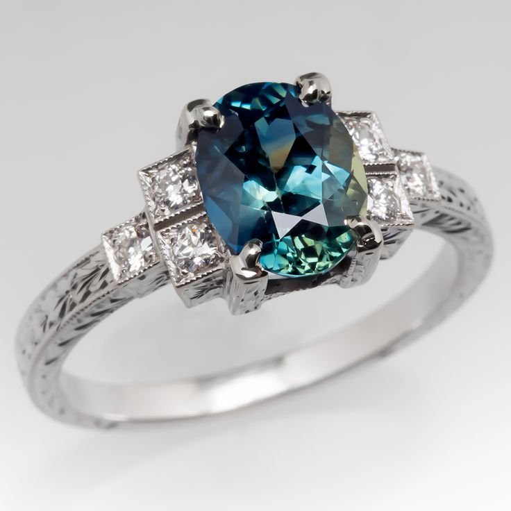 421 best Sapphire Engagement Rings images on Pinterest