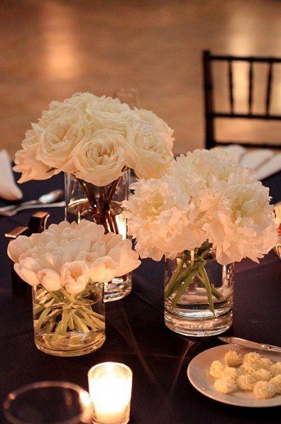 I like the arrangement of three vases a lot