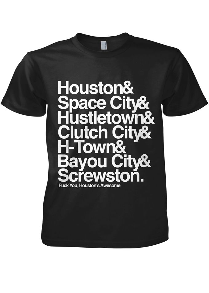 Houston nicknames shirt, watch for size | Want to actually buy ...