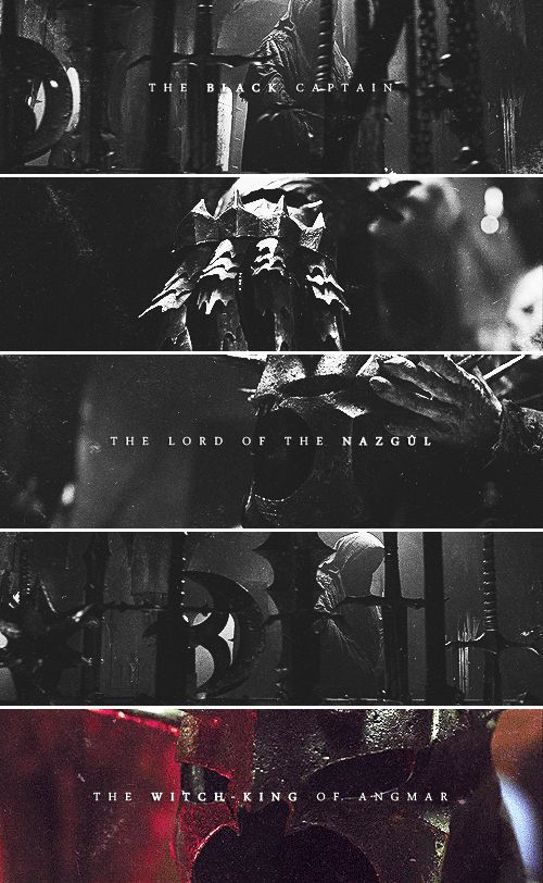 The Black Captain. The Lord of the Nazgul. The Witch-King of Angmar #TheLordOfTheRings #Nazgul