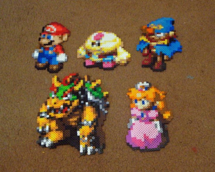Perler Super Mario RPG Collection by Pika-Robo on deviantART