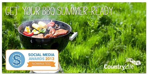Read Fergal's tips to help get your BBQ summer ready and ensure it lasts through many flame grilled parties! #gardening #tips #countrylife