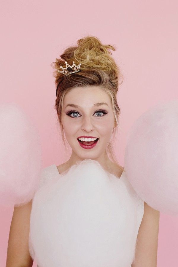Glitter Girl: Cloe Lane Of Bon Puf | theglitterguide.com///a bit of puffy cotton candy for your guests///www.annmeyersignatureevents