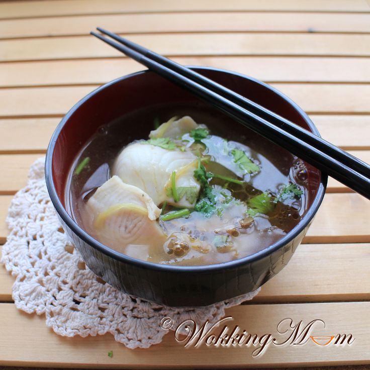 306 best soups images on pinterest asian soup china food and simple sliced fish soup singapore food blog forumfinder Images