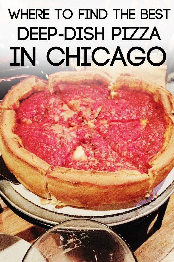 Chicago is known for is unbelievable deep-dish style pizza! Why waste your time on average pizza?! Check out this guide on where to find the best deep-dish pizza in Chicago!