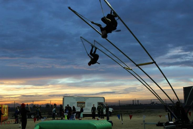 Monkey Motion Bungee Trampoline - http://partyprofessionals.com/services/post-proms/