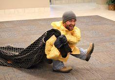 Tiny Fisherman Funny Homemade Costume