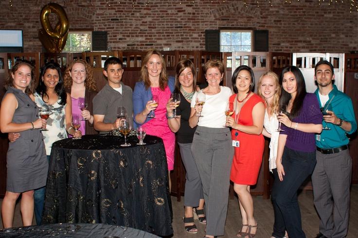 Members of the University Relations team at the MBA Intern wine tasting event at the Picchetti Winery in Cupertino, California. #VMwareU #VMwarePaloAlto