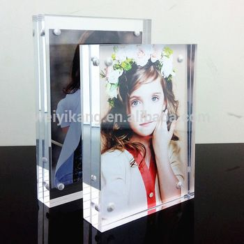 4 x6 size 5 x7 8 x10 Inch Clear Acrylic Funny Photo Frame/Photo Picture Frames Wholesale/Photo Frames The Custom