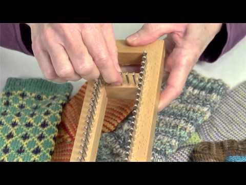 KB SOCK LOOM Adjustable, Authentic Knitting Board and Looms