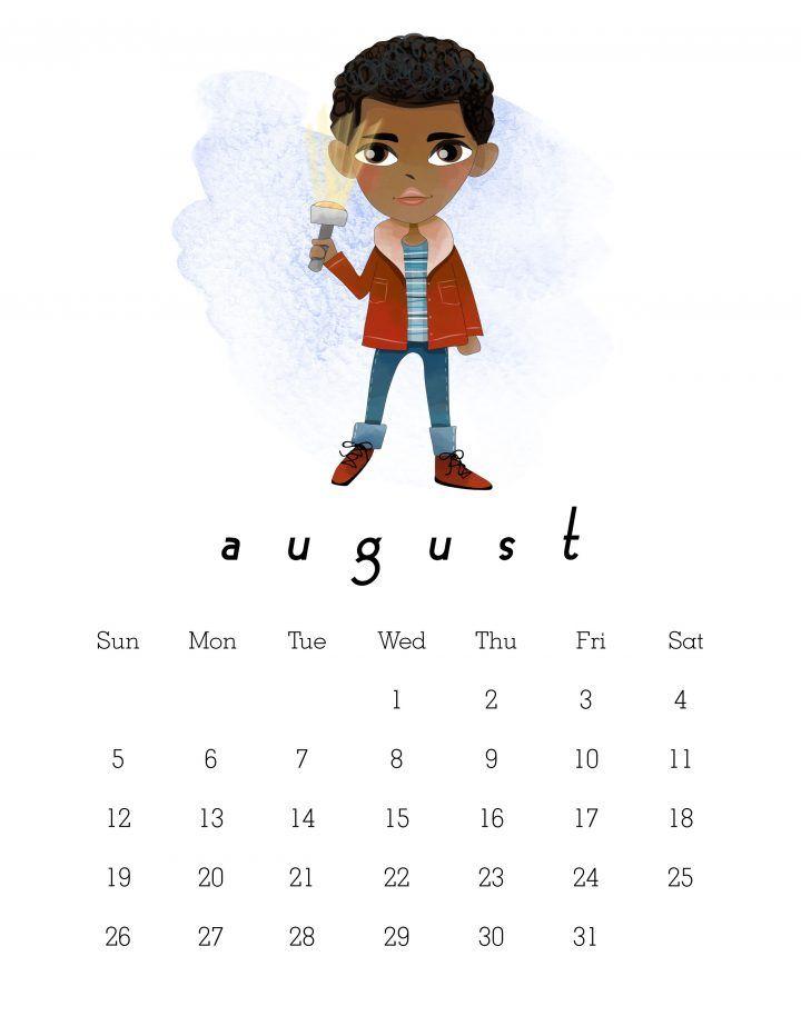 Free Printable 2018 Stranger Things Calendar