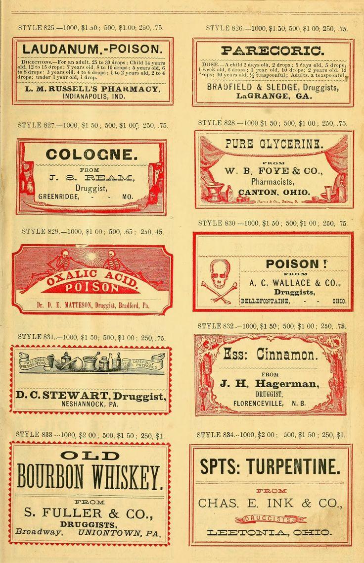 prescription lables diy vintage apothecary pinterest