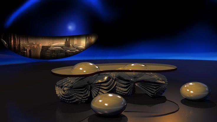 StarWars episode XIII Desert Fried Eggs table
