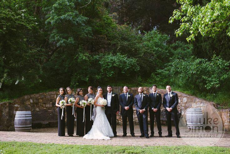 The grotto #GlenEwinEstate #Weddings #bridal #adelaidehills #photos